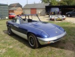 Lotus Elan - nearing completion