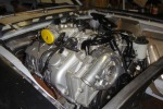 Ford Mustang engine trail fitted