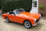 MG Midget fully restored and gorgeous