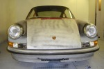 Porsche 3.2 Carrera final trial fit of back dated bodywork, all in steel