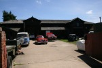 The workshop yard - another busy day!