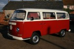 VW Two-tone Camper - body and interior restoration